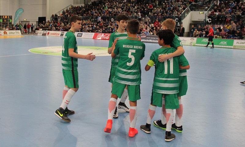 Spiel 33 Werder Bremen Fc Porto 10 Fußballknabenturnier Des
